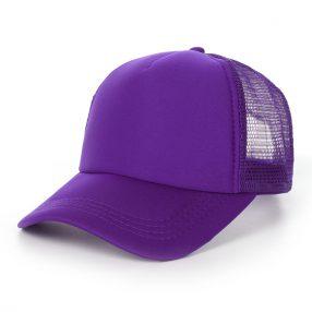 หมวกเปล่าสีม่วง
