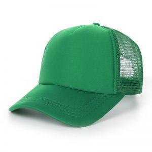 หมวกเปล่าสีเขียว