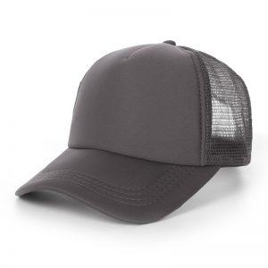หมวกเปล่าสีเทา