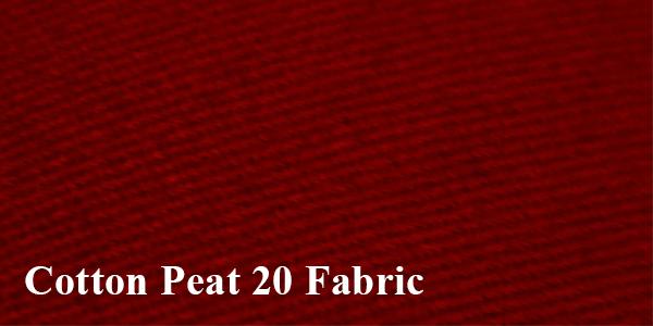 เนื้อผ้าหมวก COTTON PEAT 20