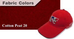 สีผ้าหมวก