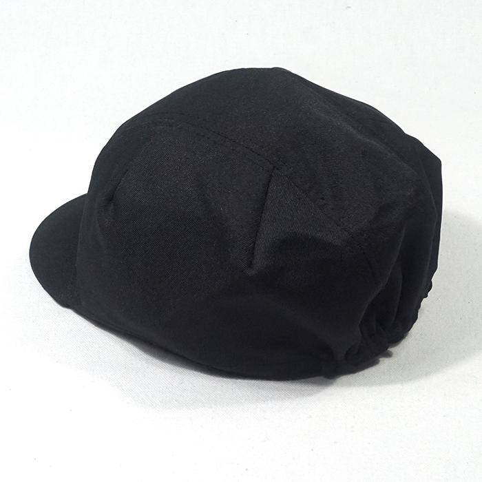 หมวกจักรยานสีดำ