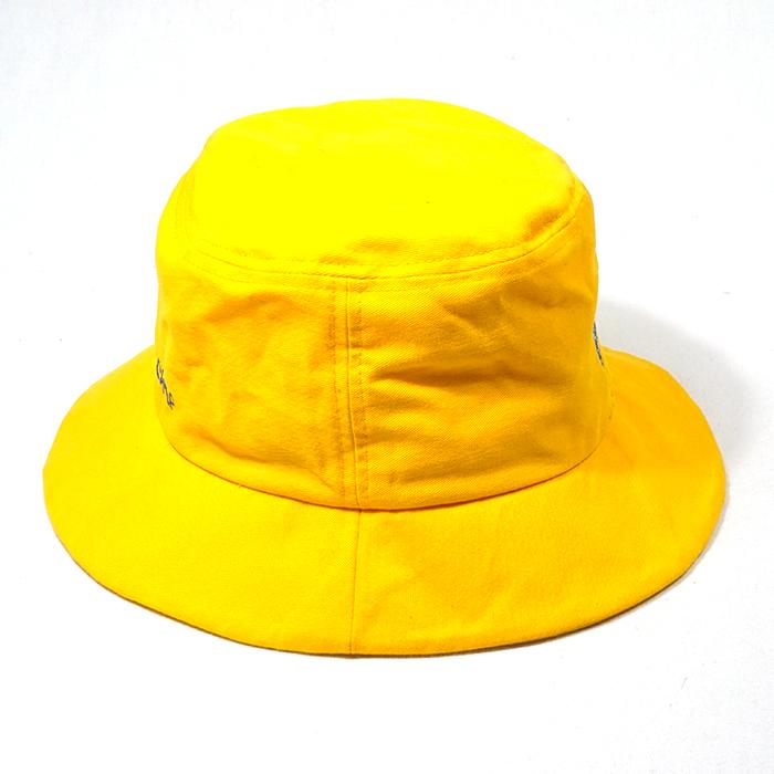 หมวกปีกรอบสีเหลือง