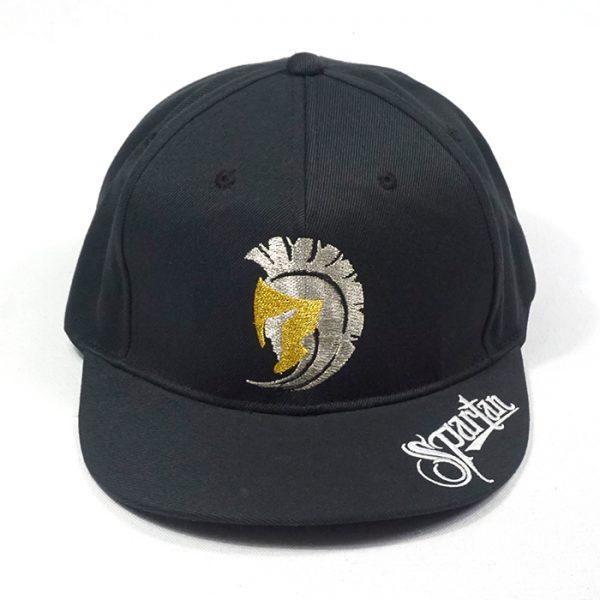 หมวกฮิปฮอปสีดำล้วน