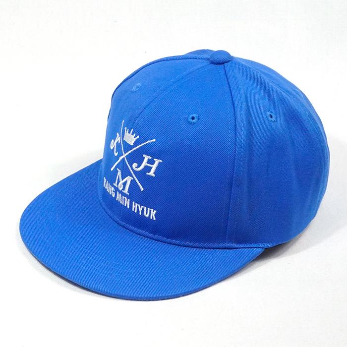 หมวกฮิปฮอปสีน้ำเงิน