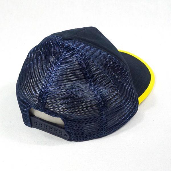 หมวกแก๊ปตาข่ายกุ้นปีกหมวก