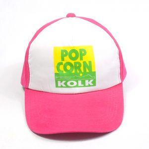 แบบหมวกแก๊ปทูโทนสีชมพู