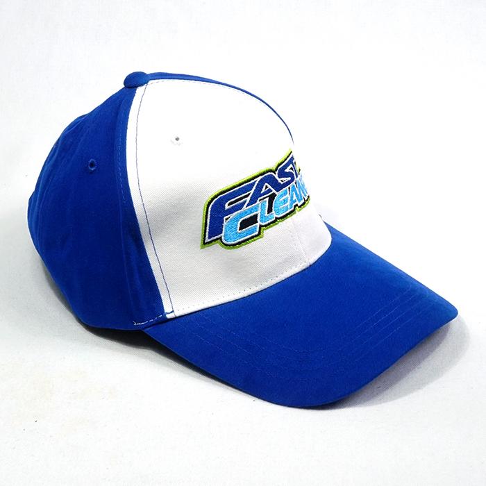 รับทำหมวกสีน้ำเงิน