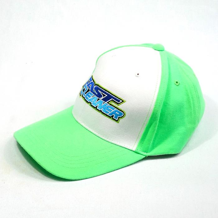 แบบหมวกแก๊ปสีเขียว