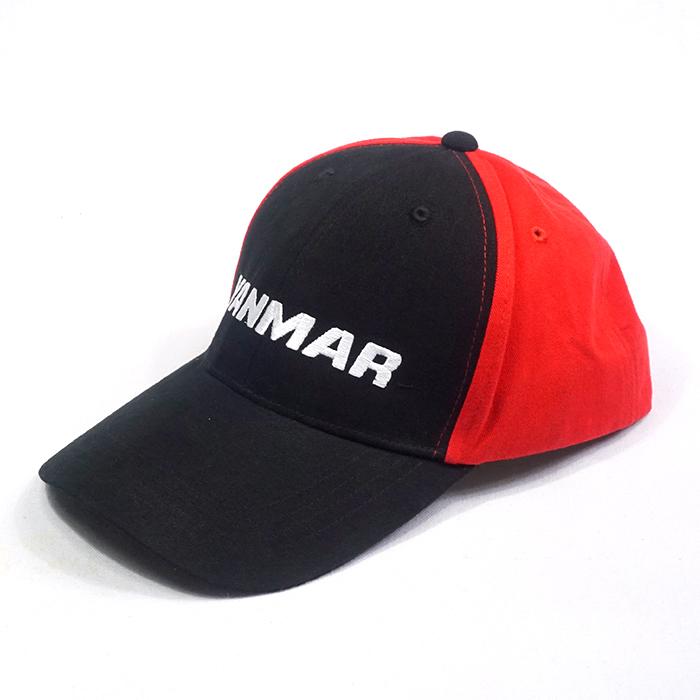 แบบหมวกแก๊ปสีดำแดง
