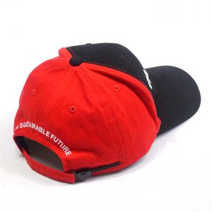 ทำหมวกแก๊ปดำแดง