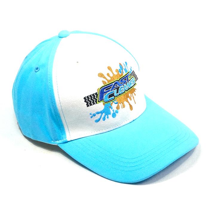 หมวกแก๊ปสีฟ้า