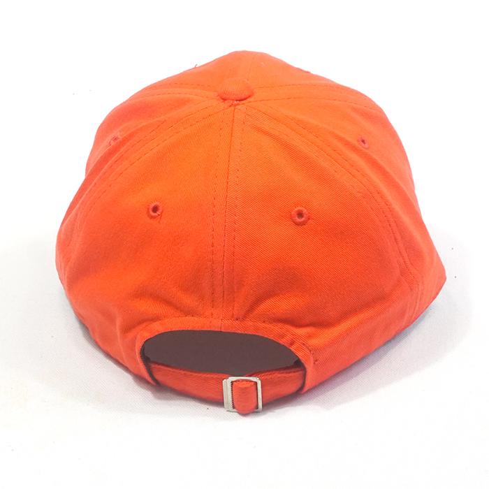 แบบหมวกแบรนด์สีส้ม