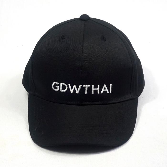 ผลิตหมวกแบรนด์สีดำ GDWTHAI
