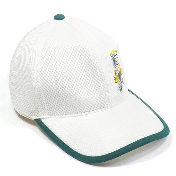 หมวกแก๊ปสีล้วนกุ้นปีกหมวก