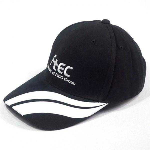หมวกแก๊ปสีดำ FTEC