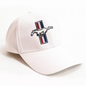 หมวกแก๊ปสีขาวล้วน