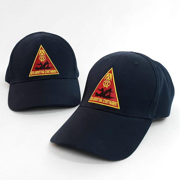 หมวกแก๊ปสีกรมท่าล้วน