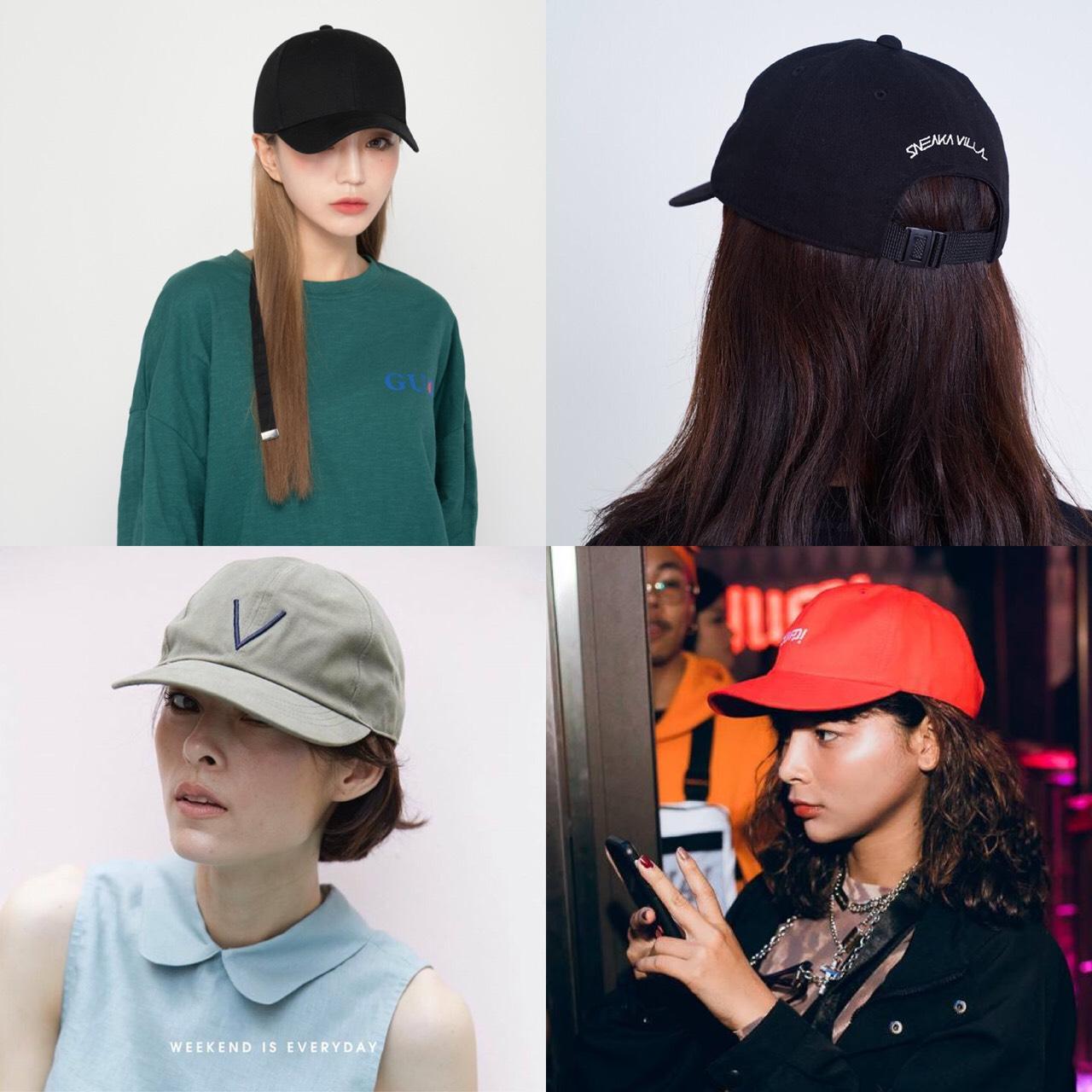 แบบหมวก street