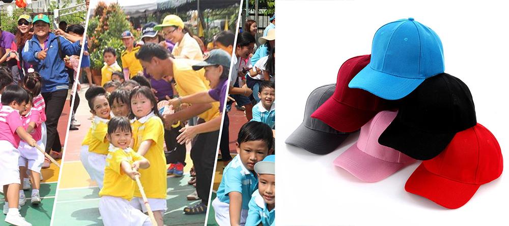 หมวกแก๊ปกีฬาสี