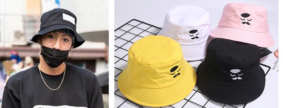 หมวกปีกรอบ Bucket